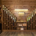 Wine cellar with a large wine collection