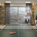 Table tennis at the Cycladic residence