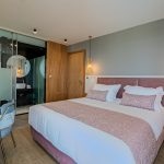 Master bedroom at villa Orizontes