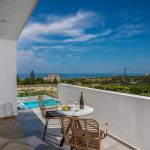 Private balcony with beautiful view of Psiloritis mountain