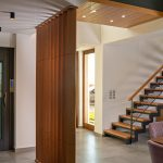 Interior lift in the greek villa
