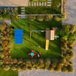 playground with table tennis