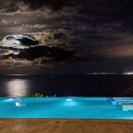 Night view at Octo seafront property
