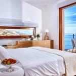Cretan sea view from the bedroom