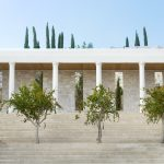 Architectural details at villa 5