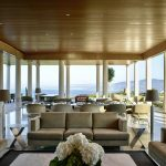 Large shaded lounge area at villa 20