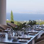 Outdoor dining at Villa 20