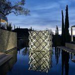 Contemporary art at villa 20 in mainland Greece
