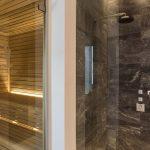 Sauna at villa 20 in Porto Heli