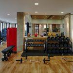 ultra - luxury gym at villa 20