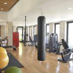 Technogym equipment in the villa 20 gym