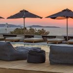Relax by the pool watching the sunset at villa Moni