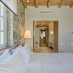 Double bedroom with wooden details