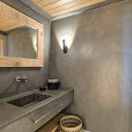 luxury bathroom at new luxury villa in mykonos