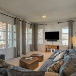 Cozy living room at the luxury villa Moni