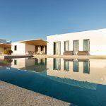 Infinity pool and villa Faragas