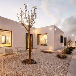 Villa Faragas exterior lighting