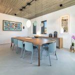 Indoor Dining at villa Faragas