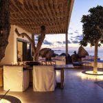 night lighting of the luxury villa Escape