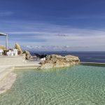 main pool at villa Escape in Mykonos