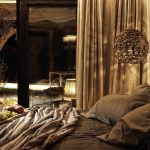 relaxing night at the bedroom of villa Escape