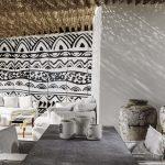 lounge with Cycladic art