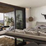 luxury bedroom at villa Escape in Mykonos